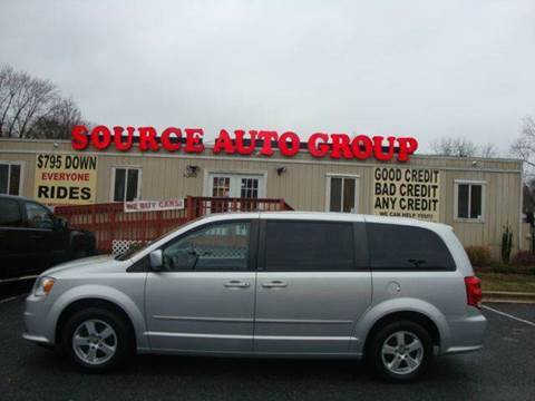2011 Dodge Grand Caravan for sale at Source Auto Group in Lanham MD