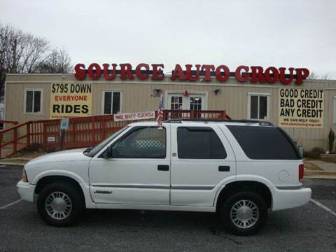 1998 GMC Jimmy for sale at Source Auto Group in Lanham MD