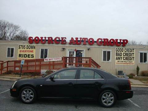 2005 Cadillac STS for sale at Source Auto Group in Lanham MD