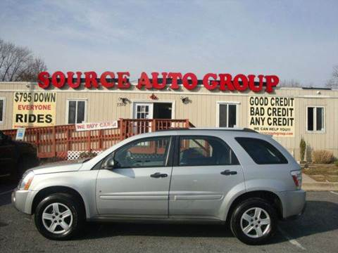 2006 Chevrolet Equinox for sale at Source Auto Group in Lanham MD