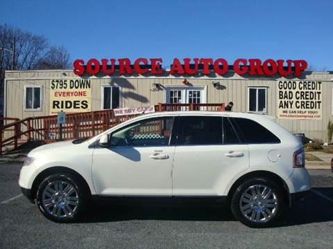 2008 Ford Edge for sale at Source Auto Group in Lanham MD