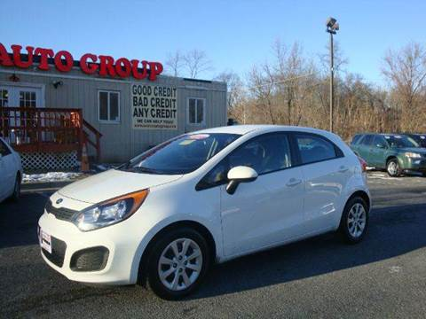 2013 Kia Rio5 for sale at Source Auto Group in Lanham MD