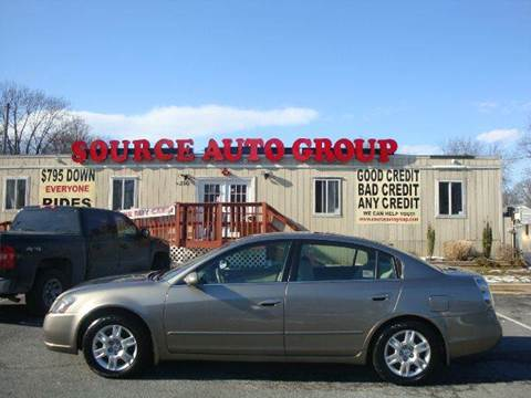 2006 Nissan Altima for sale at Source Auto Group in Lanham MD