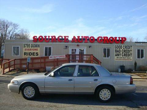 2006 Mercury Grand Marquis for sale at Source Auto Group in Lanham MD