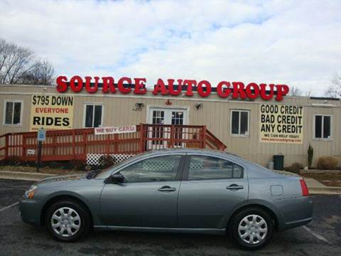 2008 Mitsubishi Galant for sale at Source Auto Group in Lanham MD