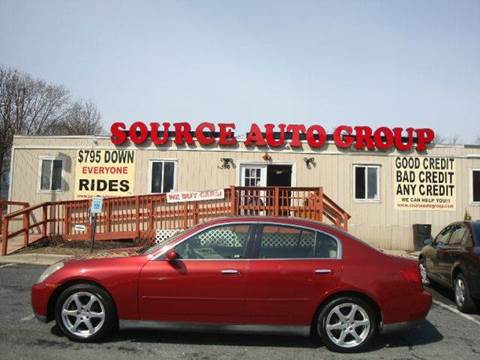 2003 Infiniti G35 for sale at Source Auto Group in Lanham MD