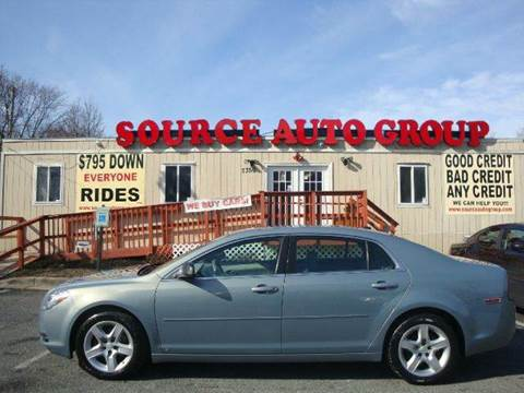 2009 Chevrolet Malibu for sale at Source Auto Group in Lanham MD