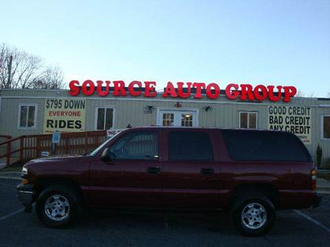 2006 Chevrolet Suburban for sale at Source Auto Group in Lanham MD