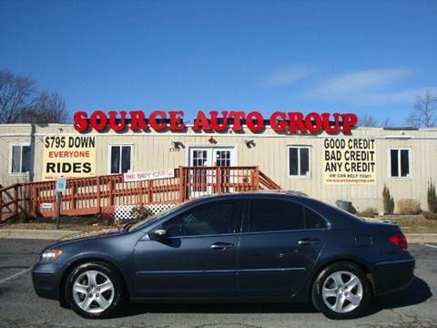 2008 Acura RL for sale at Source Auto Group in Lanham MD