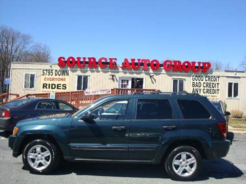 2005 Jeep Grand Cherokee for sale at Source Auto Group in Lanham MD