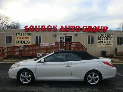 2006 Toyota Camry Solara for sale at Source Auto Group in Lanham MD