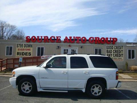 2006 GMC Yukon for sale at Source Auto Group in Lanham MD