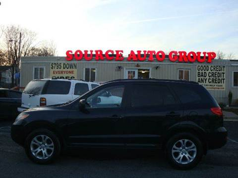 2008 Hyundai Santa Fe for sale at Source Auto Group in Lanham MD