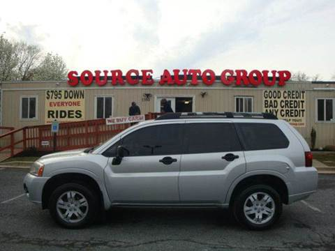 2008 Mitsubishi Endeavor for sale at Source Auto Group in Lanham MD