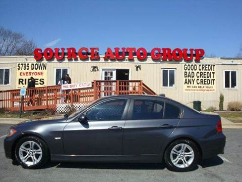 2007 BMW 3 Series for sale at Source Auto Group in Lanham MD