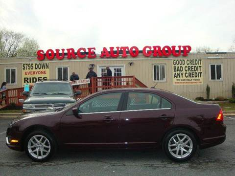 2012 Ford Fusion for sale at Source Auto Group in Lanham MD