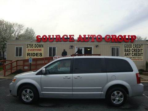 2008 Dodge Grand Caravan for sale at Source Auto Group in Lanham MD