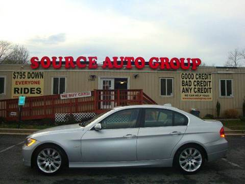 2006 BMW 3 Series for sale at Source Auto Group in Lanham MD