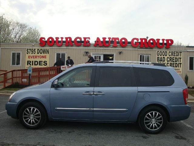 2011 Kia Sedona for sale at Source Auto Group in Lanham MD