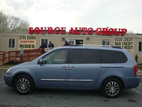 2011 Kia Sedona for sale at Source Auto Group in Lanham MD