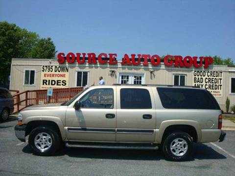 2005 Chevrolet Suburban for sale at Source Auto Group in Lanham MD