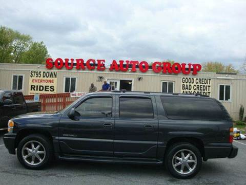 2003 GMC Yukon XL for sale at Source Auto Group in Lanham MD