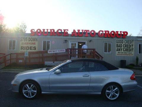 2006 Mercedes-Benz CLK-Class for sale at Source Auto Group in Lanham MD