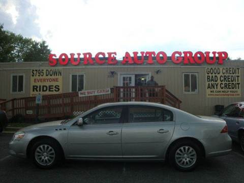 2008 Buick Lucerne for sale at Source Auto Group in Lanham MD