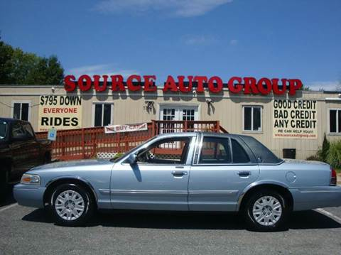 2007 Mercury Grand Marquis for sale at Source Auto Group in Lanham MD