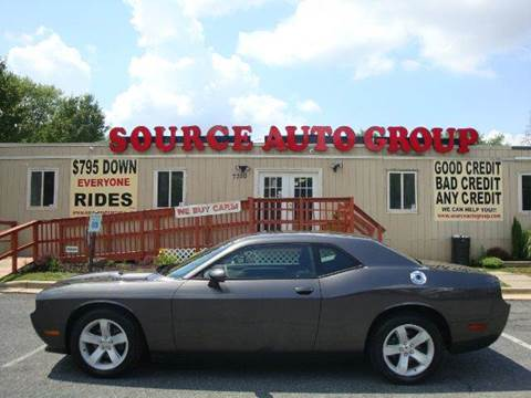 2014 Dodge Challenger for sale at Source Auto Group in Lanham MD