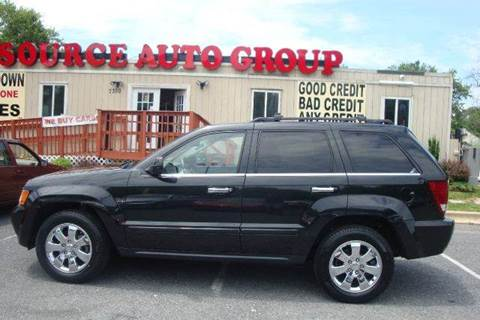 2010 Jeep Grand Cherokee for sale at Source Auto Group in Lanham MD