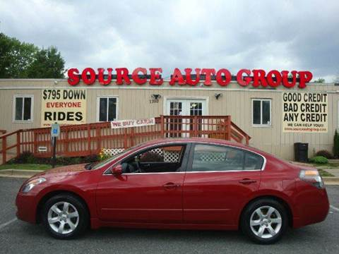 2009 Nissan Altima for sale at Source Auto Group in Lanham MD