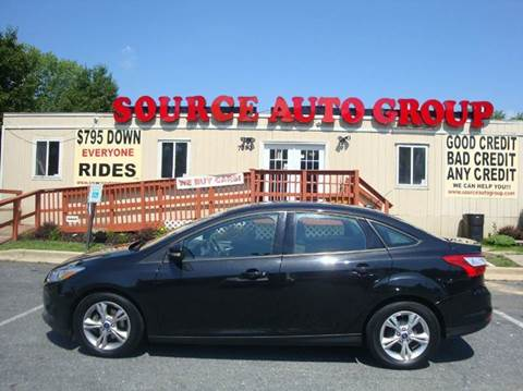 2013 Ford Focus for sale at Source Auto Group in Lanham MD