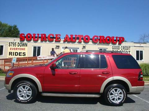 2009 Ford Explorer for sale at Source Auto Group in Lanham MD