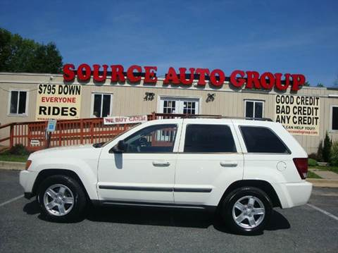 2007 Jeep Grand Cherokee for sale at Source Auto Group in Lanham MD
