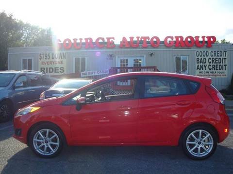 2015 Ford Fiesta for sale at Source Auto Group in Lanham MD