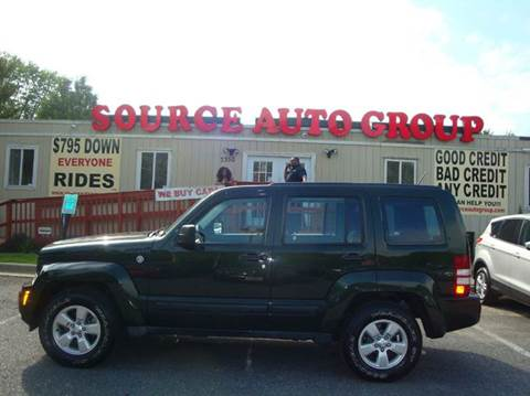 2012 Jeep Liberty for sale at Source Auto Group in Lanham MD