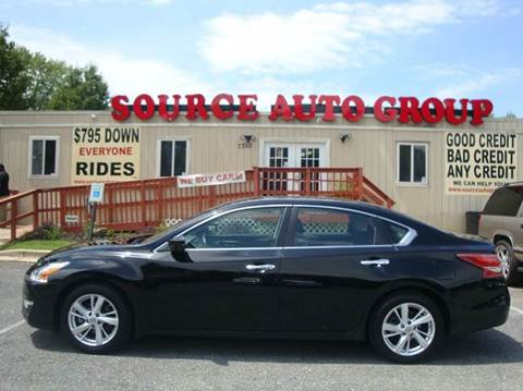 2013 Nissan Altima for sale at Source Auto Group in Lanham MD