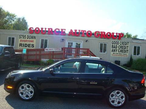 2011 Ford Fusion for sale at Source Auto Group in Lanham MD