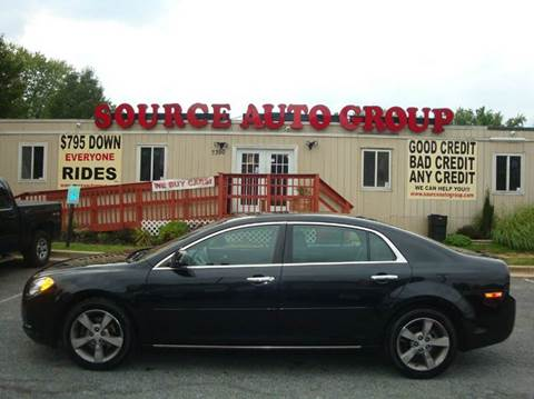 2012 Chevrolet Malibu for sale at Source Auto Group in Lanham MD
