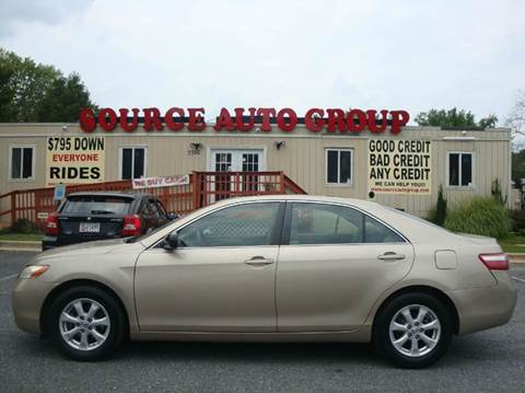 2008 Toyota Camry for sale at Source Auto Group in Lanham MD