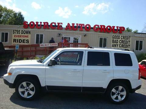 2012 Jeep Patriot for sale at Source Auto Group in Lanham MD