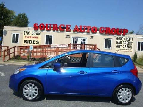 2015 Nissan Versa Note for sale at Source Auto Group in Lanham MD