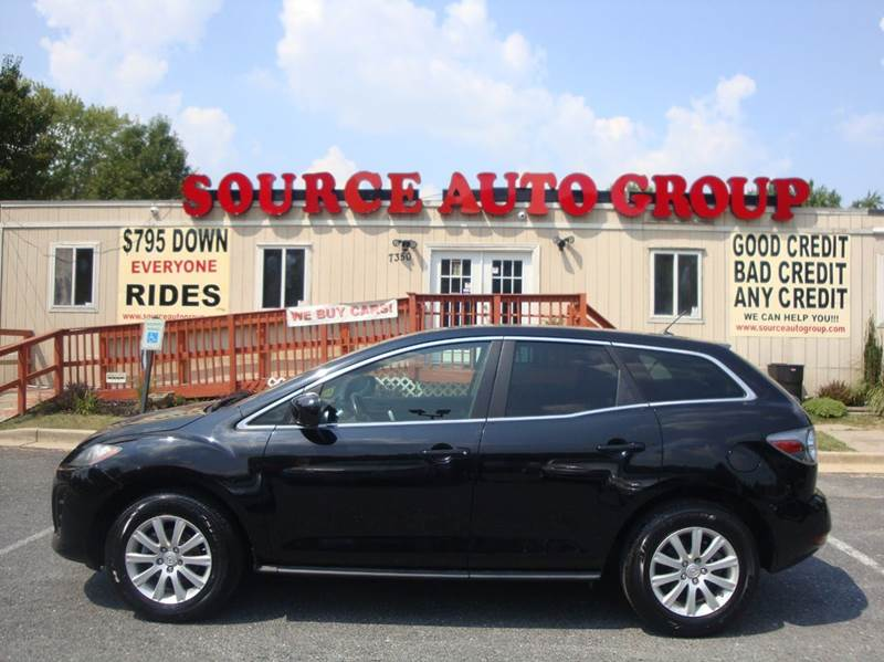 2010 Mazda CX-7 for sale at Source Auto Group in Lanham MD