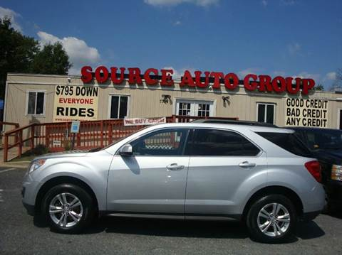 2010 Chevrolet Equinox for sale at Source Auto Group in Lanham MD