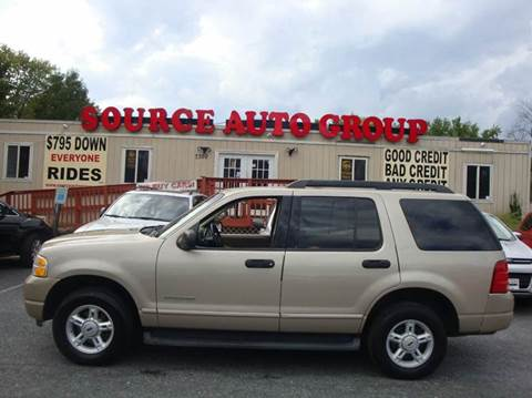 2005 Ford Explorer for sale at Source Auto Group in Lanham MD