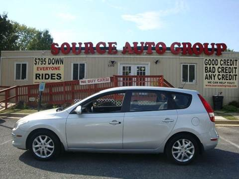 2009 Hyundai Elantra for sale at Source Auto Group in Lanham MD