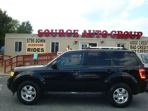 2012 Ford Escape for sale at Source Auto Group in Lanham MD