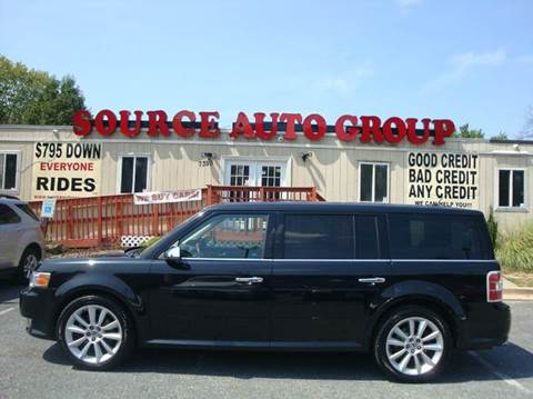 2011 Ford Flex for sale at Source Auto Group in Lanham MD