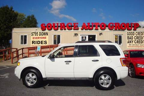 2011 Ford Escape for sale at Source Auto Group in Lanham MD